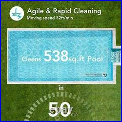 AIPER SMART Cordless Automatic Pool Cleaner, Strong Suction with 2pcs Motors