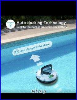 AIPER SMART Cordless Automatic Pool Cleaner, Strong Suction with 2pcs Upgraded