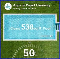 AIPER cordless pool cleaner automatic vacuum, IPX8 waterproof, Auto docking feat