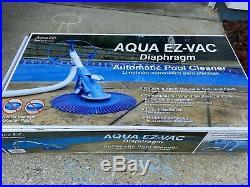 Aqua EZ 16-in Suction Pool Vacuum Automatic Pool Cleaner Swim Equipment Outdoor