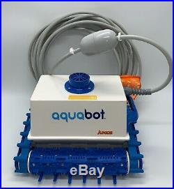 Aquabot Classic Junior Automatic Robotic Swimming Pool Cleaner With Power Supply