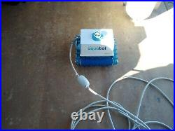Aquabot Junior Automatic Robotic In Ground Pool Cleaner for parts as is