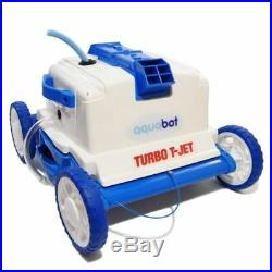 Aquabot Turbo T-Jet In-Ground Automatic Robotic Swimming Pool Cleaner ABTTJET