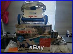 Aquabot automatic Turbo T-Jet Robotic Vacuum Cleaner for In Ground Swimming Pool