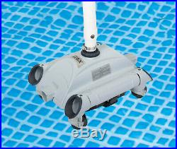 Automatic Above-Ground Pool Vacuum Cleaner for Pumps 1,600-3,500 GPH 28001E NEW
