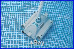 Automatic Pool Vacuum Cleaner Intex Above Ground Auto Cleaning Floor Vac Robotic