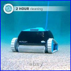 Automatic Robotic Pool Cleaner Ideal for Above and In-Ground Pools up to 33ft