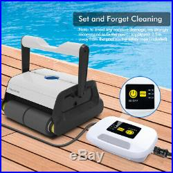 Automatic Robotic Pool Cleaner, Wall Climbing Robotic Swimming Pool Cleaner