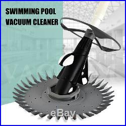 Automatic Suction Side Climb Wall Swimming Pool Vacuum Cleaner 30ft Hose Set