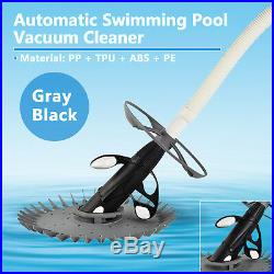 Automatic Suction Swimming Pool Vacuum Cleaner Hose Set In Ground Above Ground