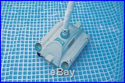 Automatic Swimming Pool Vacuum Cleaner Above Ground Robotic Auto Vac Robot