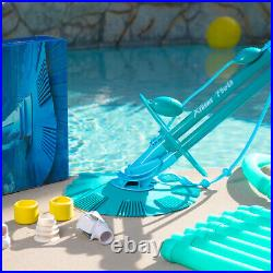 Automatic Swimming Pool Vacuum Cleaner Inground Above Ground with Hose Set Kit