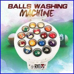Billiard Ball Cleaner Machine Pool 16 balls Snooker 22 Balls Clean Automatic