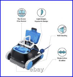 CC Automatic Robotic Pool Cleaner Ideal for Above and In-Ground Swimming Pools