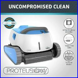 DOLPHIN Proteus DX4 Automatic Robotic Pool Cleaner with Exceptional Cleaning up
