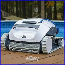 Dolphin E10 Automatic Robotic Pool Cleaner with Easy to Clean Top Load Filter