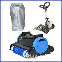 Dolphin Nautilus Automatic Robotic Pool Cleaner Bundle with Caddy & Caddy Cover
