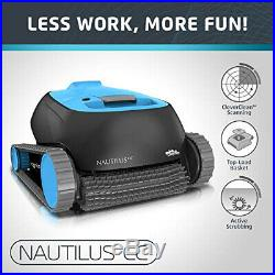 Dolphin Nautilus CC Automatic Robotic Pool Cleaner with Large Capacity Top Load