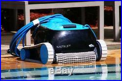 Dolphin Nautilus CC Automatic Robotic Pool Cleaner with Top Load Filter Basket