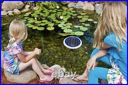 FLOATRON Original Solar Powered Pool Cleaner, Natural Mineral Copper Ionizer