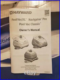 Hayward Navigator Pro Vacuum Automatic Pool Cleaner Open Box Missing Piece(s)