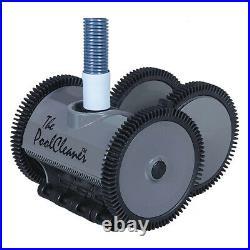 Hayward W3PVS40GST Poolvergnuegen Automatic Suction Pool Cleaner 4-Wheel, Gray