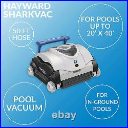 Hayward W3RC9740CUB SharkVac Easy Clean Automatic Robotic Swimming Pool Cleaner
