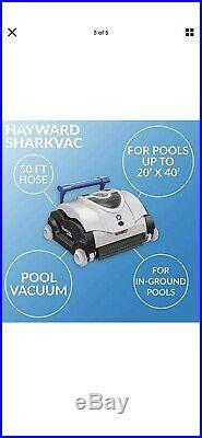 Hayward W3RC9740CUB SharkVac Robotic Pool Vacuum (Automatic Cleaner) Robot