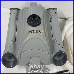INTEX 28001E above ground swimming pool cleaner vacuum sweeper automatic robot
