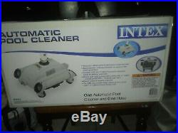 INTEX Automatic Above Ground Swimming Pool Vacuum Cleaner (28001E)
