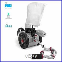 In Ground Pressure Side Automatic Swimming Pool Cleaner Wall Climb Vacuum Sweep