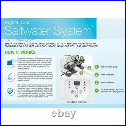 Intex 26669EG Saltwater System ECO 15000 Gallon Above Ground Pools 110120V GFCI