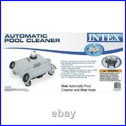 Intex 28001E Above Ground Swimming Pool Automatic Vacuum Cleaner FREE SHIP