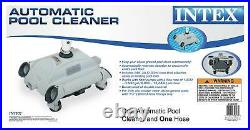 Intex 28001E Automatic Pool Vacuum Cleaner for Above-Ground Pools with1.5 Fitting
