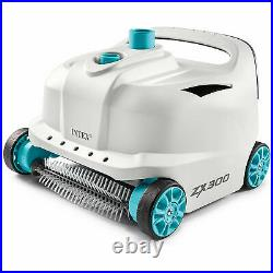 Intex 28005E 700 Gal Per Hour Automatic Pool Cleaner Robot Vacuum with 21 Ft Hose