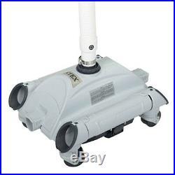 Intex Above Ground Swimming Pools Floor Automatic Vacuum Cleaner Maintenance