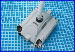 Intex Aboveground Swimming Pool Automatic Vacuum Pool Cleaner Grey/Black