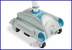 Intex Automatic Pool Cleaner Pressure Side Vacuum Cleaner with 21 Foot Hose 28001E