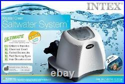 Intex Krystal Clear Saltwater System Chlorinator withGFCI Model 26669EG