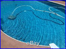 Intex Pool Vacuum Cleaner Automatic Pressure Side with 24 Foot Hose Auto X Ultra