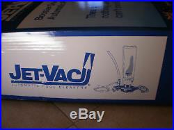 Jetvac Jv105au Jet Vac Automatic Pool Cleaner Jv105 Complete Head Hose +warranty