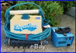 Just Serviced! Aquabot Automatic Robotic Pool Cleaner, swimming