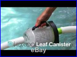 Kokido Butterfly Deluxe Automatic Vac Swimming Pool Vac Cleaner + Leaf Canister