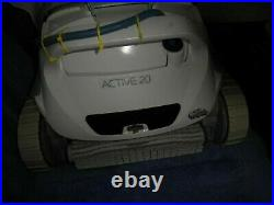 Maytronics Active 20 Dolphin Robotic Automatic Pool Cleaner USED WORKING