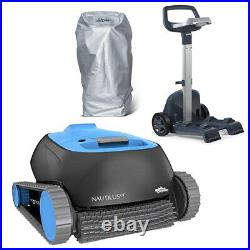 Maytronics Dolphin Nautilus CC with Caddy & Cover Inground Robotic Pool Cleaner