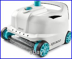 NEW Intex 28005E ZX300 Deluxe Automatic Pool Cleaner, Grey