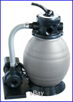 New Above Ground Swimming Pool Automatic Sand Filter Pump Cleaner System
