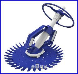 New Advanced Suction Side Automatic Pool Cleaner System /w Hoses Climbs Walls