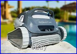 OPEN BOX Dolphin Quantum Automatic Robotic Pool Cleaner with Large Filter Basket