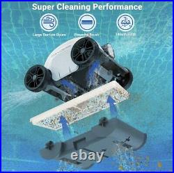 PAXCESS HJ1103J Cordless Automatic Pool Cleaner Robotic Fast Moving
